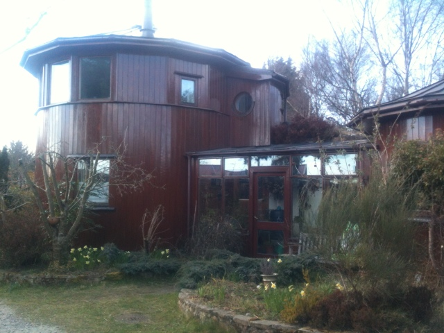 A house made out of a Whisky Keg in Findhorn